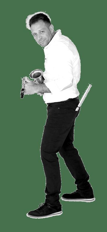 Mario B. bubnjevi/saksofon/vokal